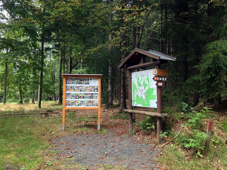 Wanderparkplatz Egerer Wald