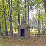 Zierlicher Holzbau