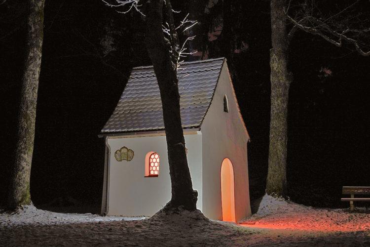 Winternacht am Alten Herrgott